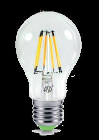 Лампа свд. LED-A60-PREMIUM 10Вт 220В Е27 3000К 900Лм прозрачная ASD