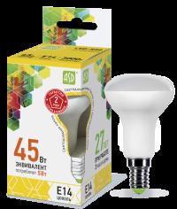 Лампа свд. зеркальная LED-R50-standart 5.0Вт 220В Е14 3000K 400Лм ASD