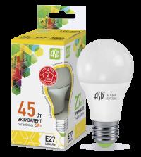 Лампа свд. LED-А60-standart 5Вт 220В Е27 34000К ASD