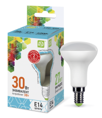 Лампа свд. зеркальная LED-R50-standart 3,0Вт 220В Е14 4000K 250Лм ASD