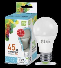 Лампа свд. LED-А60-standart 5Вт 220В Е27 4000К ASD