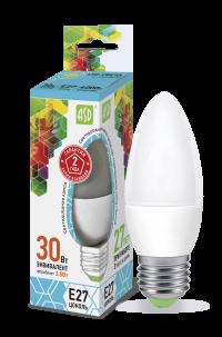 Лампа свд. LED-Свеча-standard 3,5Вт 160-260В Е27 4000К 300Лм ASD