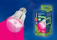 Лампа свд. для растений LED-A60-9W/SP/E27/CL ALM01WH