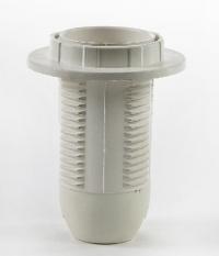 Патрон Е14 -ППК пластиковый с прижимным кольцом ASD