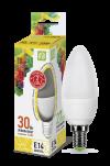 Лампа свд. LED-Свеча-standard 3,5Вт 160-260В Е14 3000К 300Лм ASD