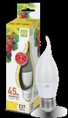 Лампа свд. LED-Свеча на ветру-standard 5Вт 160-260В Е27 3000К ASD