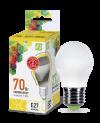 Лампа свд. LED-ШАР-standard 7,5Вт 160-260В Е27 3000К 600Лм ASD