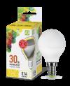 Лампа свд. LED-ШАР-standard 3,5Вт 160-260В Е14 3000К 300Лм ASD