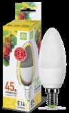 Лампа свд. LED-Свеча-standard 5Вт 160-260В Е14 3000К 400Лм ASD