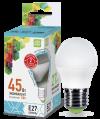 Лампа свд. LED-ШАР-standard 5Вт 160-260В Е27 4000К 400Лм ASD