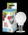 Лампа свд. LED-ШАР-standard 3,5Вт 160-260В Е14 4000К 300Лм ASD