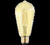Лампа свд. LED-ST64-PRM 8Вт  Е27 3000К 720Лм золотистая ASD