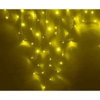Свд. гирлянда бахрома 2x0,5м RW-OIC100LSE-Y-T-I4-P (желтая)